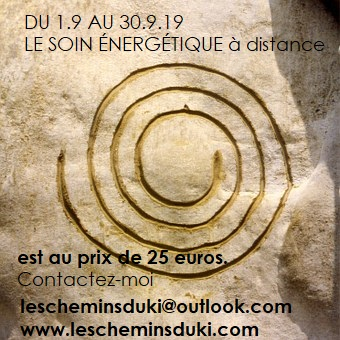 Promo soin energetique distance